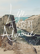 Helen Digital Art Posters - Great Adventure Poster by Leah Flores
