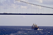 Maritime And Nautical - Great Belt Bridge by Heiko Koehrer-Wagner