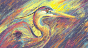 Elena Liachenko - Great Blue Heron I