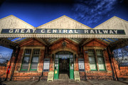 Entrance Door Framed Prints - Great Central Railway Framed Print by Yhun Suarez