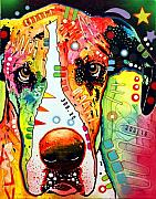 Great Dane Art - Great Dane by Dean Russo