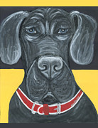 Great Painting Originals - Great Dane Poster by Ania M Milo