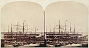 New York Harbor Art - Great Eastern 1859 by Granger