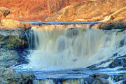 Lewiston Prints - Great Falls 14133 Print by Guy Whiteley