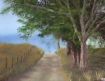 Pathway Paintings - Great Grandpas Commute by Kenneth McGarity
