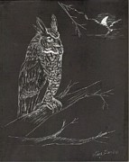 Lisa Guarino - Great Horned Owl
