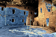 Historic Site Digital Art Prints - Great Kiva Print by David Lee Thompson