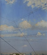 Moscow Paintings - Great Lump of Sky by Philip Marriott