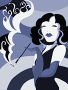 Great Marlene Print by Zbigniew Rusin