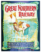Great Northern Railway Print by John Hayes