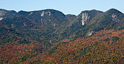 High Peaks Posters - Great Range Autumn - Adirondack Park - New York Poster by Brendan Reals