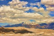 Lightning Wall Art Prints - Great Sand Dunes National Monument Print by James Bo Insogna