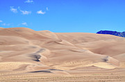 Sand Dunes Framed Prints - Great Sand Dunes National Park Framed Print by Louise Heusinkveld