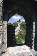 Blue Brick Prints - Great Wall, China Print by Allan Seiden - Printscapes