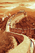 Peking Prints - Great wall of Beijing Print by Giancarlo Liguori