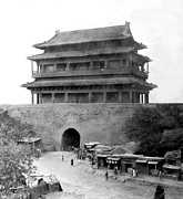 Peking Prints - Great Wall of China - Peking - c 1901 Print by International  Images