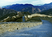 Surrounding Wall Prints - Great Wall Of China Print by Brian Lawrence