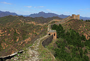 Y120831 Art - Great Wall Of China In The Jinshanling Valley by Dave Porter Peterborough Uk