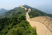Surrounding Wall Prints - Great Wall Of China Print by Luiz Felipe Castro