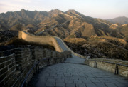 Great Wall Photos - Great Wall of China by Steve Williams