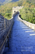 Fortification Posters - Great Wall Pathway Poster by Carol Groenen