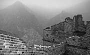 Great Wall Photos - Great Wall Three by Charline Xia