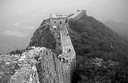 Great Wall Photos - Great Wall Two by Charline Xia