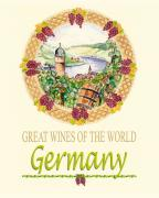 John Keaton Metal Prints - Great Wines Of The World - Germany Metal Print by John Keaton