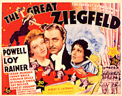 Loy Posters - Great Ziegfeld, The, Myrna Loy, William Poster by Everett