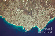 From Above Photos - Greater Bridgetown Area, Barbados by NASA/Science Source