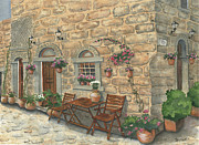 Greece Painting Originals - Grecian Charm by Marsha Elliott