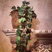 Distressed Mixed Media - Grecian Vine by Marie Naturally
