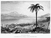 1833 Framed Prints - Greece: Kefalonia, 1833 Framed Print by Granger