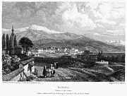 Mountain Road Prints - Greece: Yanina, 1833 Print by Granger