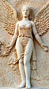 Greek Sculpture Prints - Greek Angel Print by Therese Alcorn