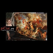 Landscap Painting Originals - Greek legends www.pictat.ro by Preda Bianca