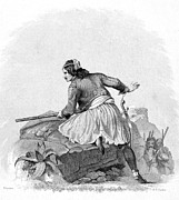 Guerilla Prints - GREEK SOLDIER, 1820s Print by Granger