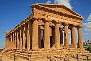 Sicily Prints - Greek Temple Print by Chuck Wedemeier