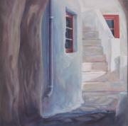 Eve Corin - Greek Village Building