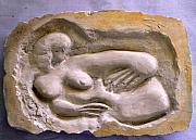 Nudes Reliefs - Greek Woman by Mauro Longordo