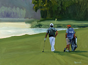 Pga Paintings - Green Ambition by Scott Palmer