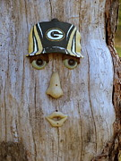 Green Bay Prints - Green Bay Packer Humor Print by Kay Novy