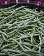 Green Beans Prints - Green Beans Print by David Buffington