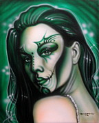 Fantasy Originals - Green Beauty by Tim  Scoggins