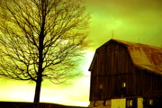 Country Scene Photos - Green Before The Storm by Emily Stauring