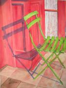 Lee Stockwell - Green Chair