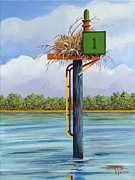 Hugh Harris - Green Channel Marker