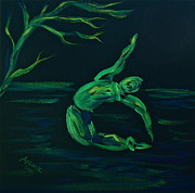 Simplistic Originals - Green Dancer by Adriane Pirro