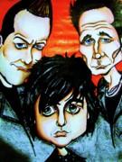 Green Day Print by Penny  Elliott