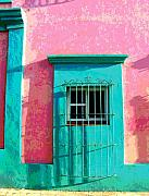Image Gypsies Prints - Green Door by Darian Day Print by Olden Mexico